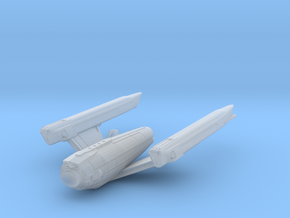 Endeavor Ascension Class Dreadnought 2500 in Smooth Fine Detail Plastic