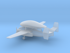 Grumman E-1 Tracer in Smooth Fine Detail Plastic: 6mm