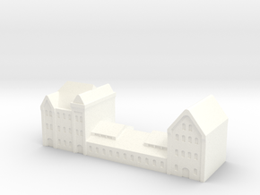 german harbour building 1/1250 (GW5) in White Processed Versatile Plastic