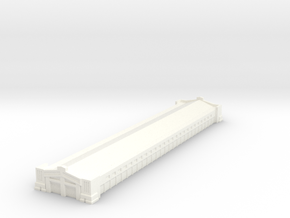Harbour Terminal shed 1/1250 in White Processed Versatile Plastic