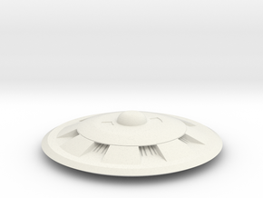 Saucer Series 2013  in White Natural Versatile Plastic