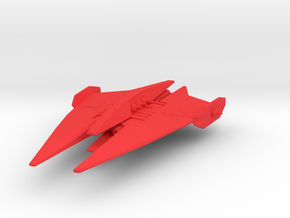 NR Bin'Tak class Dreadnought Armada Scale in Red Processed Versatile Plastic