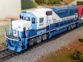 GP60 Demo Cab-Nose Asbuilt in Smooth Fine Detail Plastic