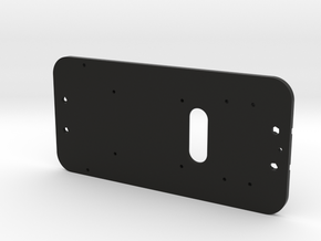 Magnet Car Base Plate in Black Natural Versatile Plastic