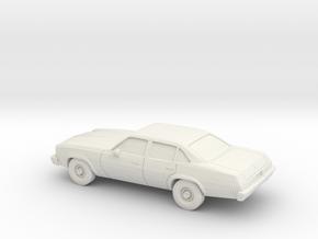 1/87 1975 Chevrolet Chevelle Sedan in White Strong & Flexible