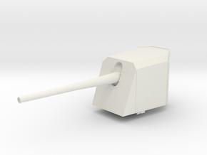 "1/72 DKM 15 cm/55 (5.9"") SK C/28 in White Natural Versatile Plastic"