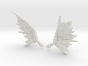 Chopper Bug 6 Wings v4 in White Natural Versatile Plastic