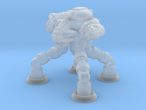 Four Leged Combat Walker in Smooth Fine Detail Plastic