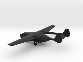 Gotha Go 242 B-2 in Black Natural Versatile Plastic: 1:200