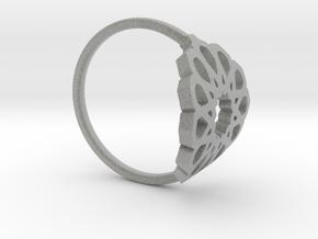 Seamless Ring in Metallic Plastic: Medium