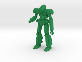 Róta Type Combat Walker - 6mm in Green Processed Versatile Plastic