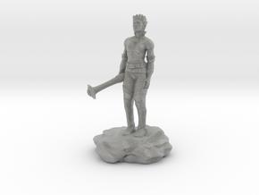Violet Goldleaf, Gnome Warlock with Rod in Metallic Plastic