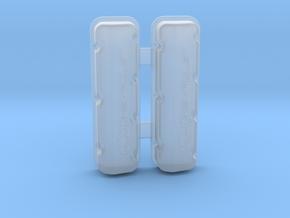 Big Block Chevrolet Valve Covers - Pair in Smoothest Fine Detail Plastic