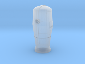 1/24 Bornes d'incendie / Fire hydrant  in Smooth Fine Detail Plastic