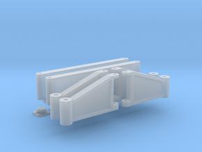 klappbare Stütze für Roco Schienenkran in Smooth Fine Detail Plastic