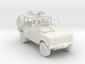 U.S. Army Ranger RSOV v1 1:285 scale in White Natural Versatile Plastic