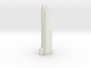 Triple Underpass East Roadway Pillar in White Natural Versatile Plastic