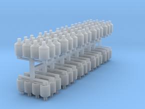 12 Teerfarben Hobboke auf Europalette 10er Set - 1 in Smooth Fine Detail Plastic