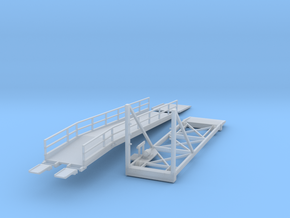 N Scale 1:160 Wilson Auto Ramp in Smoothest Fine Detail Plastic