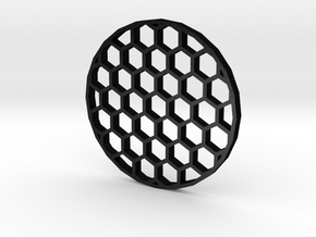 44mm Honeycomb Kill Flash (Stainless Steel) in Matte Black Steel