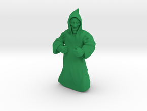 Blood Cultist in Green Processed Versatile Plastic