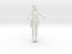 Printle T Femme 526 - 1/32 - wob in White Natural Versatile Plastic