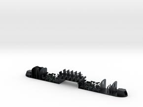 Interni ALtn444 in scala TT in Black Hi-Def Acrylate