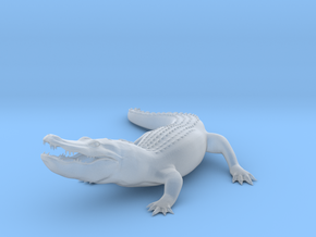 Printle Thing Alligator - 1/72 in Smooth Fine Detail Plastic