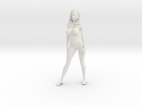 Printle V Femme 799 - 1/24 - wob in White Natural Versatile Plastic