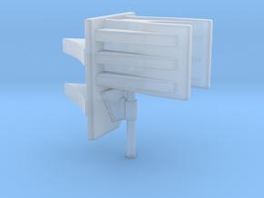 1/48 Uboot Schnorkel Support in Smooth Fine Detail Plastic