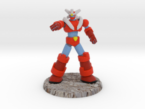 Big Science Retro-Mecha - 6mm Scale, with Base in Full Color Sandstone: 1:450 - T