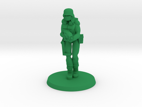 PDF Flame Trooper in Green Processed Versatile Plastic