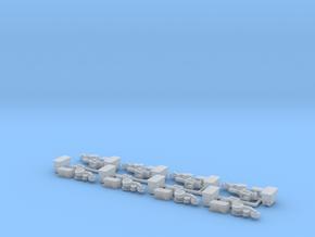Case IH 1200 Row Unit w/ Standard Hopper (8) in Smooth Fine Detail Plastic