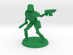 Colonial Provost in Green Processed Versatile Plastic