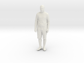 Printle C Homme 099 - 1/43.5 - wob in White Natural Versatile Plastic