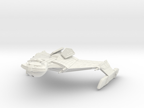Klingon K 20  GunDestroyer in White Natural Versatile Plastic