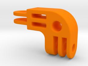 GoPro Arm 90Deg Elbow in Orange Processed Versatile Plastic