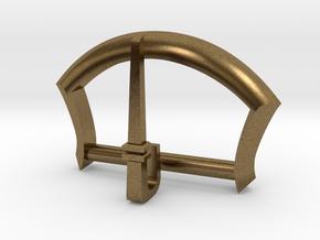 """1"""" Belt Buckle in Natural Bronze"""