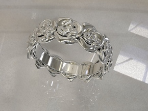 TheSunRose in 14k White Gold: 7 / 54
