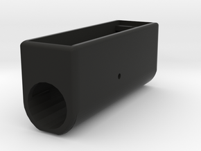 DNA 75c box round in Black Natural Versatile Plastic