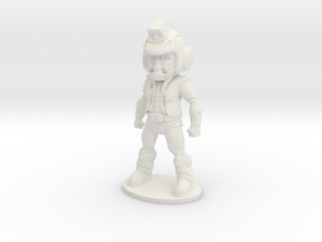 Primacron 26mm Tall (Titan Master Scale) in White Natural Versatile Plastic