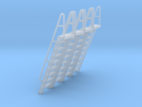 HO Scale Ladder 9 in Smooth Fine Detail Plastic