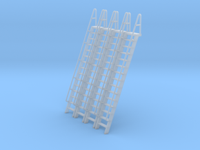 HO Scale Ladder 15 in Smooth Fine Detail Plastic