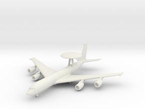 E-3D w/Gear in White Natural Versatile Plastic: 6mm