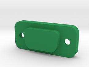 Cover for D-sub DE-9 in Green Processed Versatile Plastic