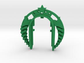 STARBUCKS KEY FOB  in Green Processed Versatile Plastic