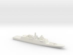 Aquitaine class FFG, 1/1250 in White Natural Versatile Plastic