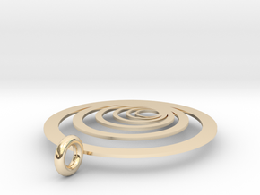 Moon Rings in 14K Yellow Gold