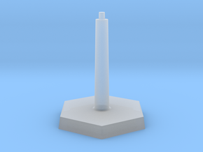 Omni Scale Stand Single Flight Stand WEM in Smooth Fine Detail Plastic
