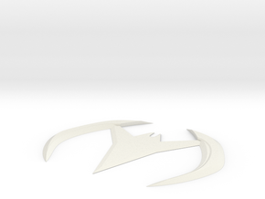 Batarang beyond in White Natural Versatile Plastic